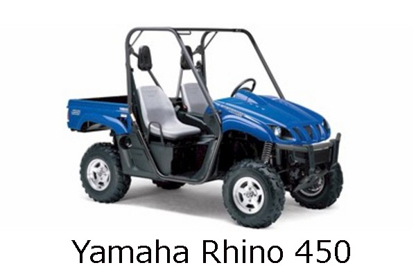 Yamaha Rhino 450 Engine
