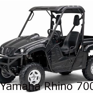 Yamaha Rhino 700 Engine
