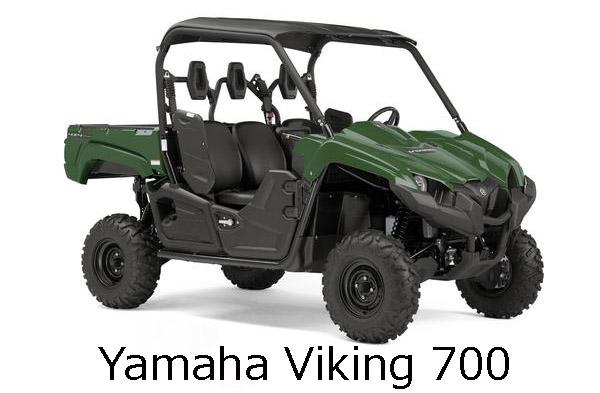 Yamaha Viking 700 Engine